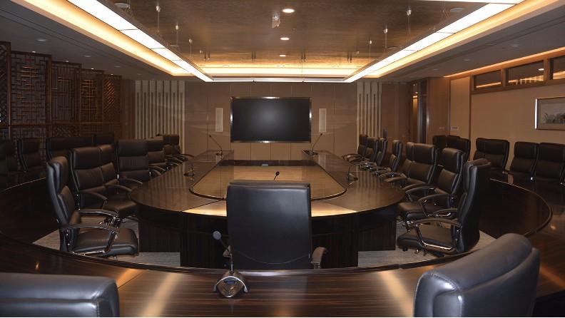 陕西榆林某银行多功能厅案例