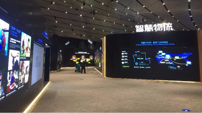 陕西某展览厅案例图