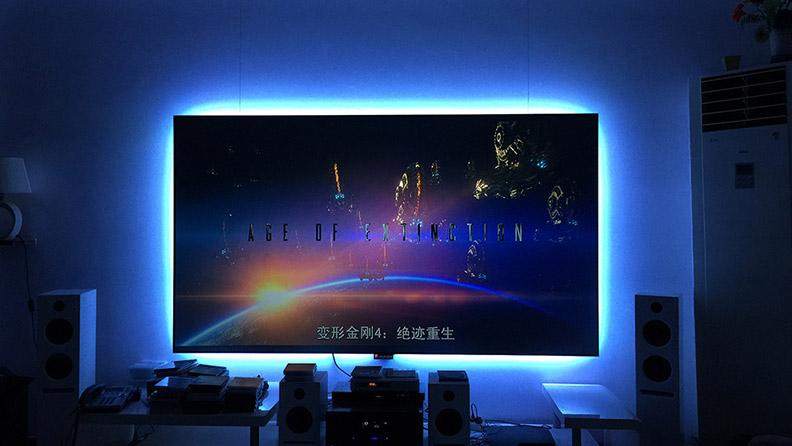 麦景龙为陕西别墅客厅提供影院音视频系统!
